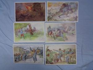 náhled knihy - Aus dem Goldenen Buche der Armee. Serie II. nr. 264, 261, 267, 265, 262, 266