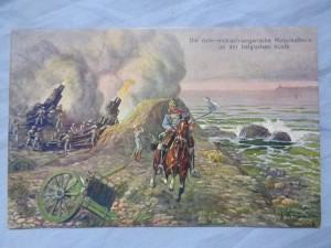náhled knihy - Die österreichisch-ungarische Motorbatterie an der belgischen Küste 116-1915