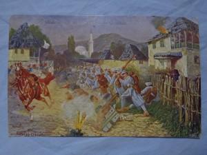 náhled knihy - Straßenkampf in einer serbischen Ortschaft 121-1916
