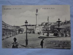 náhled knihy - Lisboa - S. R. - 333 Praça de D. Pedro