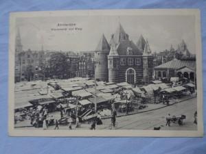 náhled knihy - Amsterdam Nieuwmarkt met Waag