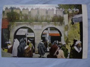 náhled knihy - TANGER. - Portes de la ville conduisant au grand Soko