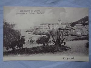 náhled knihy - Un saluto da Nervi: Panorama e Collegio Emiliani 1137