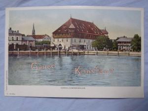 náhled knihy - Gruss aus Konstanz: Conciliumsgebäude.