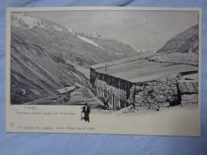 náhled knihy - Tirol: Hochjoch-Hospiz gegen die Wildspitze
