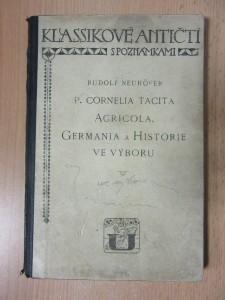 náhled knihy - P. Cornelia Tacita Agricola, Germania a Historie ve výboru :Knihy I.-III., části knih IV. a V