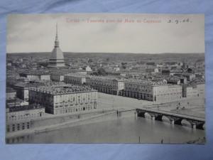 náhled knihy - Torino - Panorama preso dal Monte dei Cappuccini