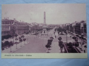 náhled knihy - Avenida da Liberdade - Lisboa No. 1295