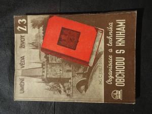 náhled knihy - Organisace a technika obchodu s knihami : Vývoj kn. : Knižní trh