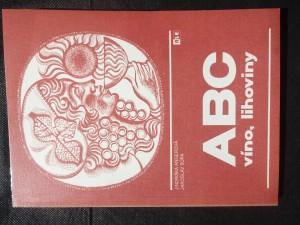 náhled knihy - ABC - víno, lihoviny