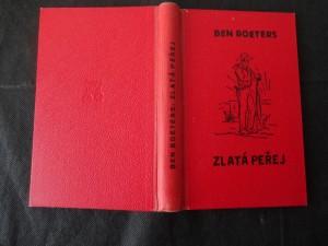 náhled knihy - Zlatá peřej : Román z prostředí drsných mužů, zlatokopů