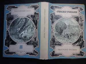 náhled knihy - Tajuplný ostrov