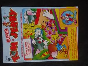 náhled knihy - Tom a Jerry : super : ohňostroj hvězd televizních comicsů! Super Tom a Jerry