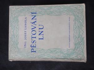 náhled knihy - Pěstování lnu
