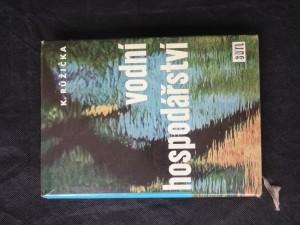 náhled knihy - Vodní hospodářství