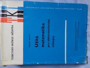 náhled knihy - Užitá matematika pro elektrotechnické inženýry