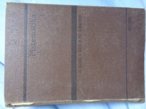 náhled knihy - Matematika I