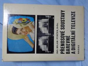 náhled knihy - Přenosové soustavy barevné a digitální televize