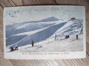 náhled knihy - Prinz Heinrich-Baude und Schneekoppe im Winter. 776