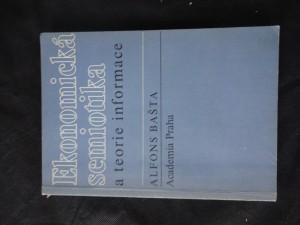 náhled knihy - Ekonomická semiotika a teorie informace