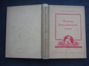 náhled knihy - Hygiena hospodářských zvířat