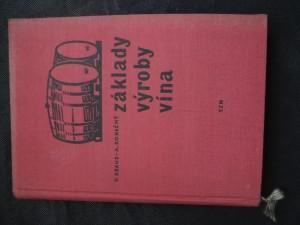náhled knihy - Základy výroby vína