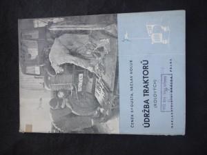 náhled knihy - Údržba traktorů (kolových)