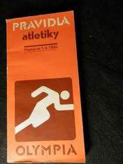 náhled knihy - Pravidla atletiky : platná od 1. dubna 1985