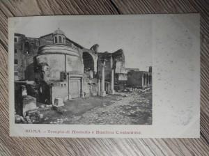 náhled knihy - ROMA - Tempio di Romolo e Basilica Costantina.