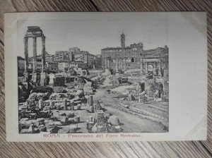 náhled knihy - ROMA - Panorama del Foro Romano.