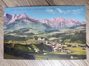 náhled knihy - Bischofshofen mit Hagen- u. Tennen-Gebirge (Salzburg). No. 9785
