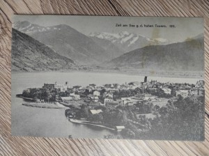 náhled knihy - Zell am See g. d. hohen Tauern. 1911.