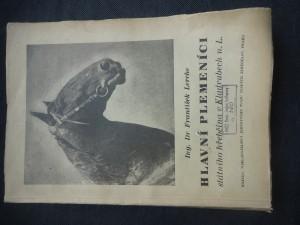 náhled knihy - hlavní plemeníci státního hřebčína v Kladrubech
