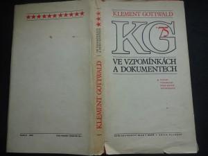 náhled knihy - Klement Gottwald ve vzpomínkách a dokumentech