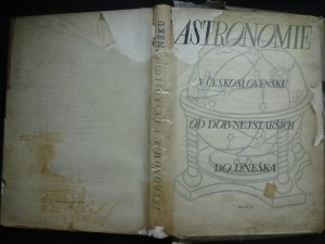 náhled knihy - Astronomie v Československu od dob nejstarších do dneška