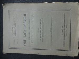 náhled knihy - obligační právo II