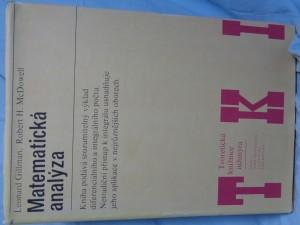náhled knihy - Matematická analýza : vysokošk. příručka pro vys. školy techn. směru
