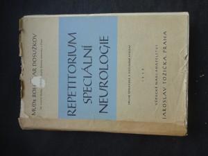 náhled knihy - Repetitorium speciální neurologie