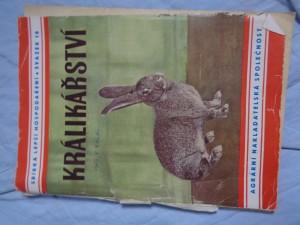 náhled knihy - Králikářství : praktická příručka pro chovatele králíků