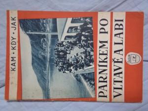 náhled knihy - Parníkem po Vltavě a Labi