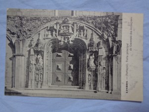 náhled knihy - Lisboa - (Portugal) Porta principal do Convento dos Jeronymos