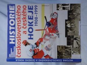 náhled knihy - Historie československého a českého hokeje 1908-1999