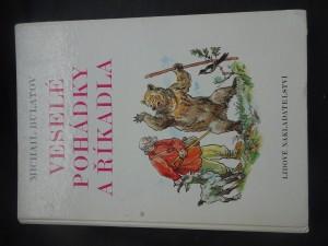 náhled knihy - Veselé pohádky a říkadla