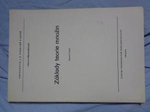náhled knihy - Základy teorie množin : určeno pro posl. fak. přírodověd.