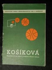 náhled knihy - košíková, metodický list pro učitele a profesory tělesné výchovy