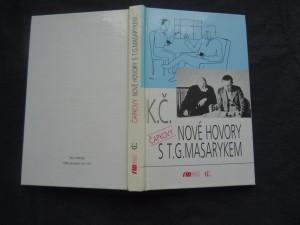 náhled knihy - nové hovory s T. G. Masarykem