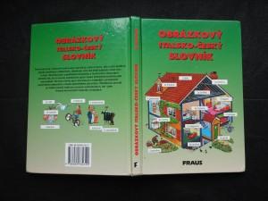 náhled knihy - Obrázkový italsko-český slovník