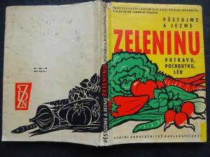 náhled knihy - Pěstujme a jezme zeleninu - potravu, pochoutku, lék