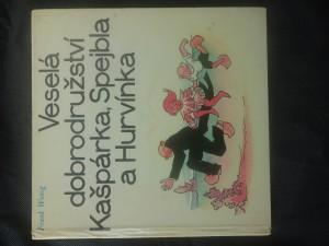 náhled knihy - Veselá dobrodružství Kašpárka, Spejbla a Hurvínka