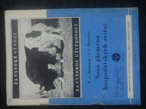 náhled knihy - Nová plemena hospodářských zvířat vypěstovaná na základě mičurinského učení
